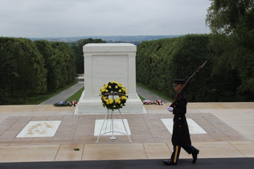 Sentry Box at The Tomb of The Unknown Soldier Tomb of The Unknown Soldier
